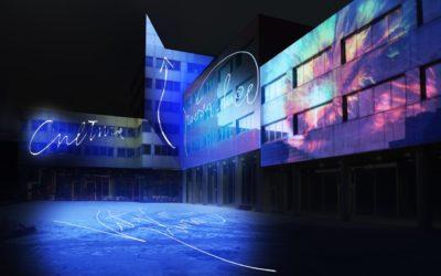 """""""City Color"""", la spettacolare performance luminosa di Marco Nereo Rotelli"""