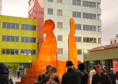 primo piano scultura