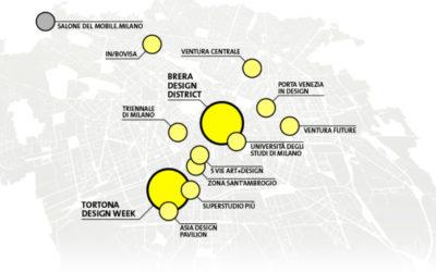 Come cambia il Fuorisalone: una guida per orientarsi tra i distretti